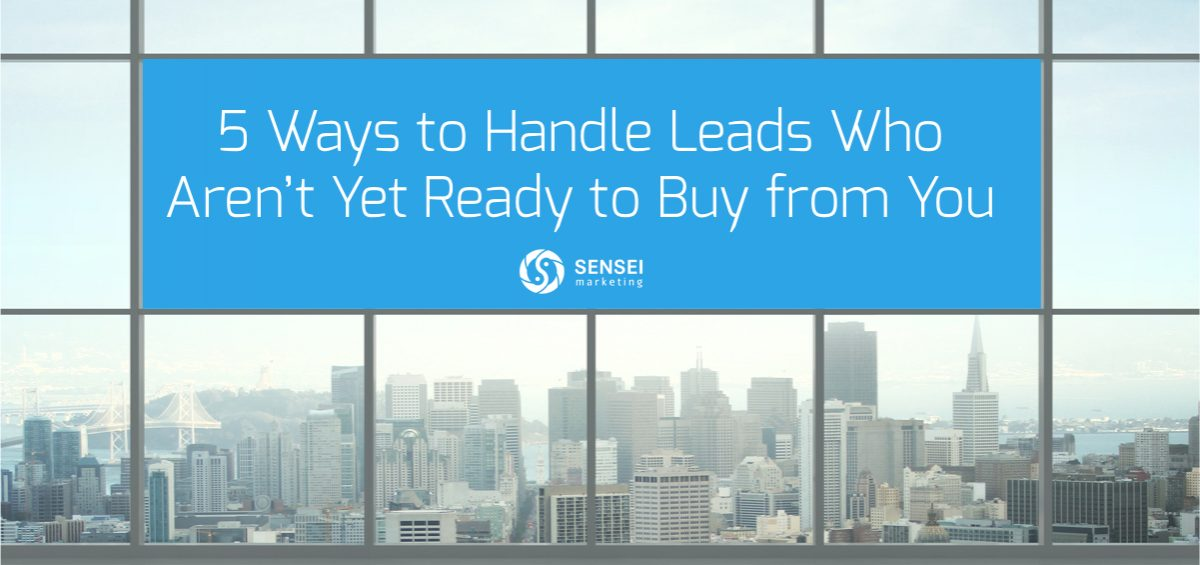 ways to handle website leads
