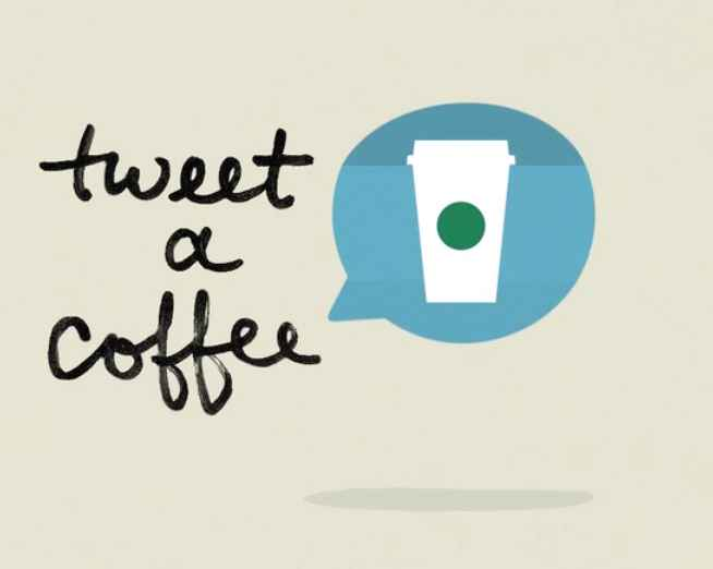 tweet a coffee