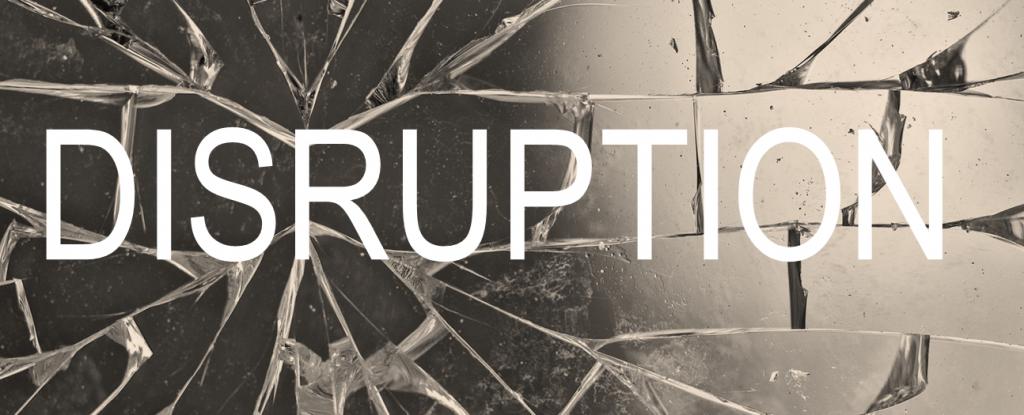 Disruption Customer Journey Glass