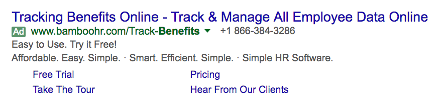 bamboo hr google ad example