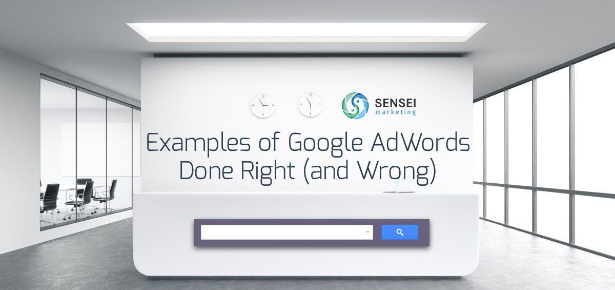 google adwords examples