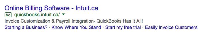 google ad example billing software