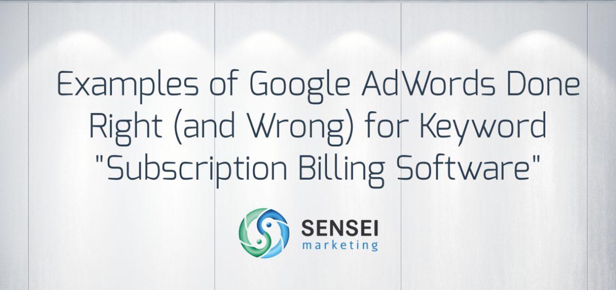 google adwords example
