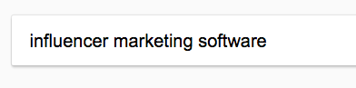 google search influencer marketing